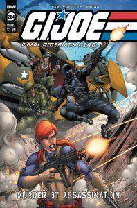 GIJoeRAH284-coverA-198x300 ComicList Previews: G.I. JOE A REAL AMERICAN HERO #284