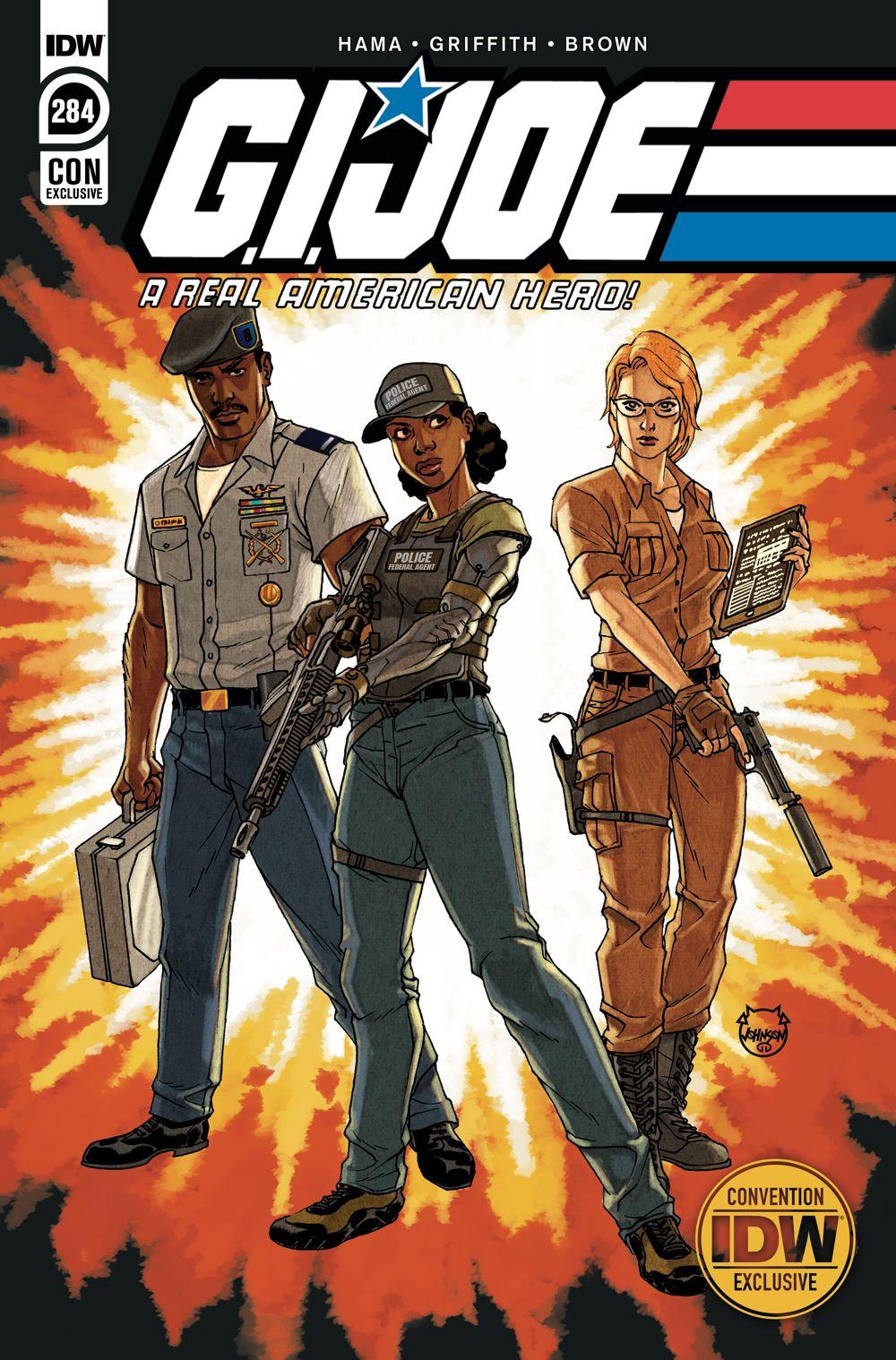 GIJoeRAH284-coverCON_A ComicList Previews: G.I. JOE A REAL AMERICAN HERO #284