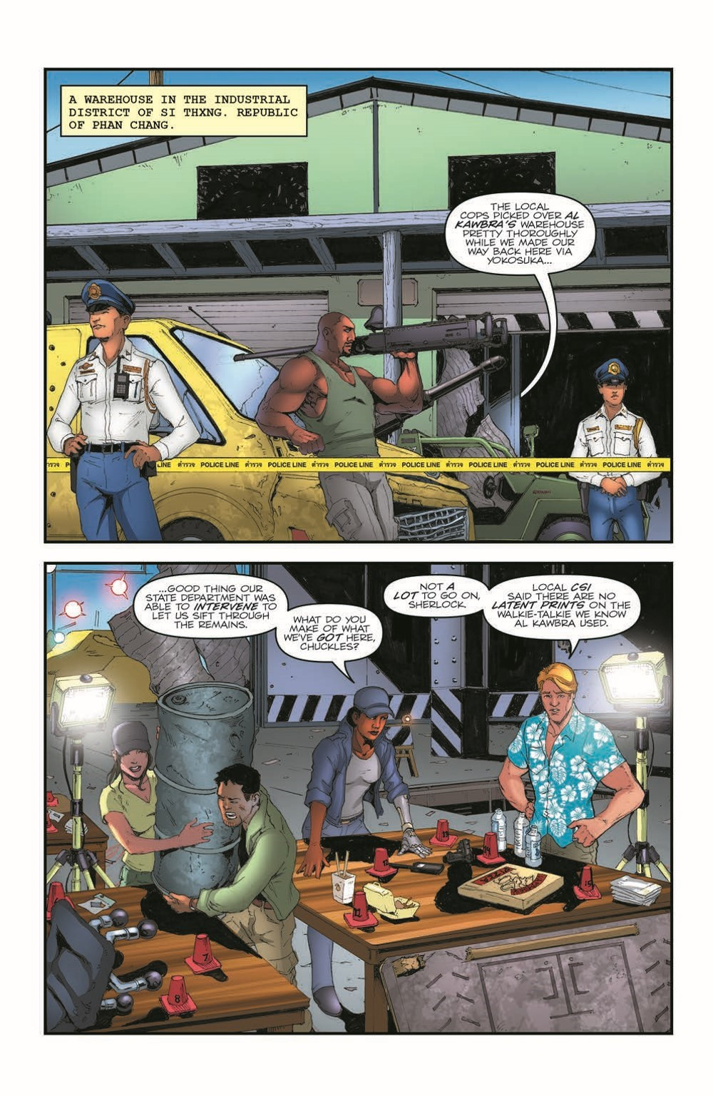 GIJoeRAH284-pr-3 ComicList Previews: G.I. JOE A REAL AMERICAN HERO #284