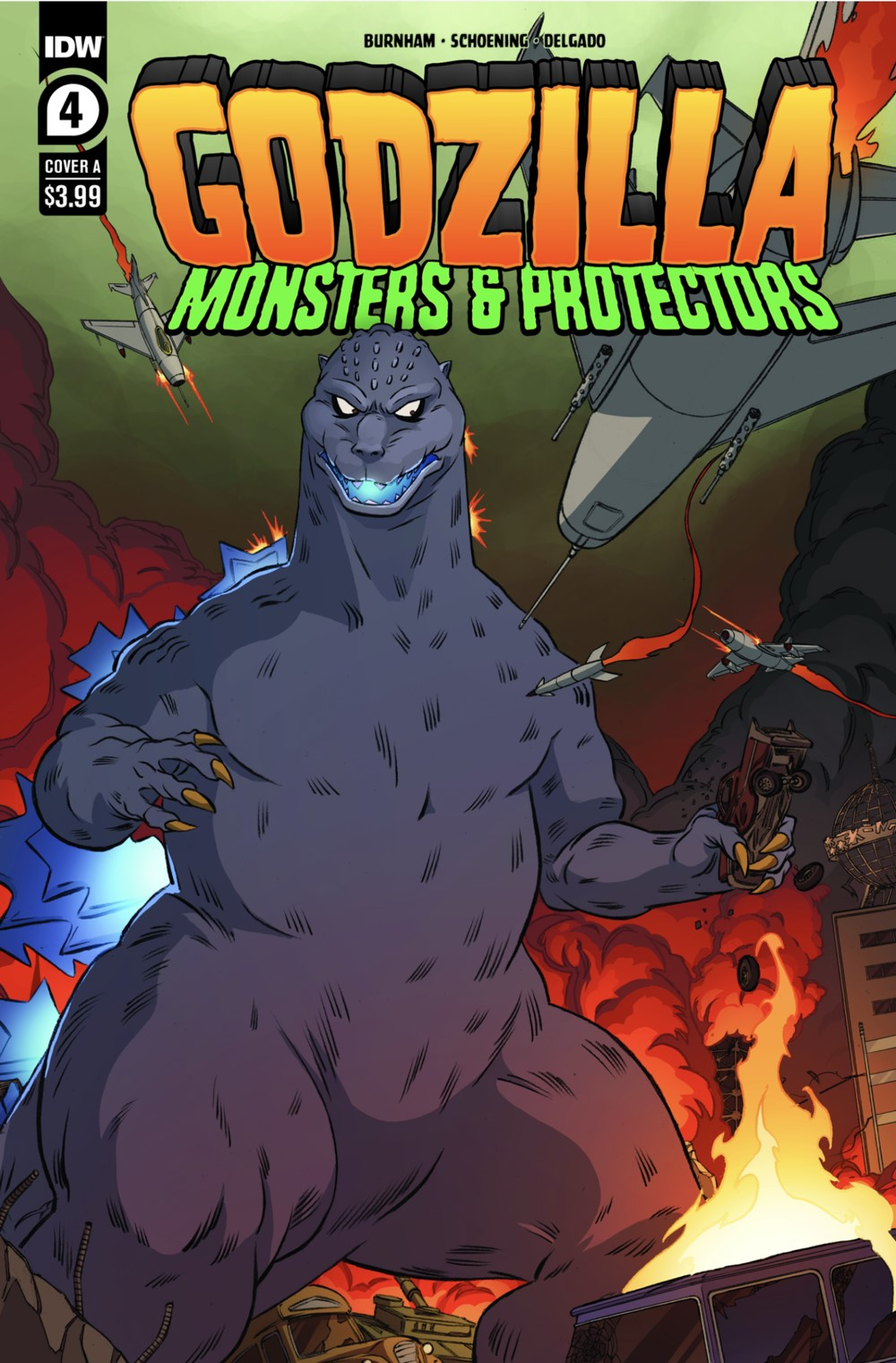 GODZILLA-MONSTERS-PROTECTORS-4-COVER-A ComicList: IDW Publishing New Releases for 07/21/2021