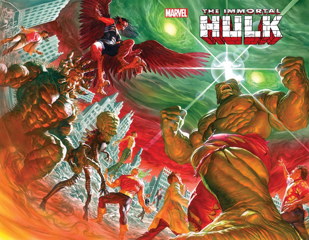 HULK2018050_cvr-1 Marvel Comics October 2021 Solicitations