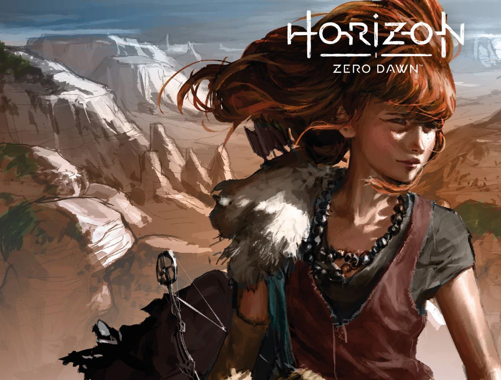 HorizonZeroDawn21_00_Cover_B ComicList Previews: HORIZON ZERO DAWN LIBERATION #1