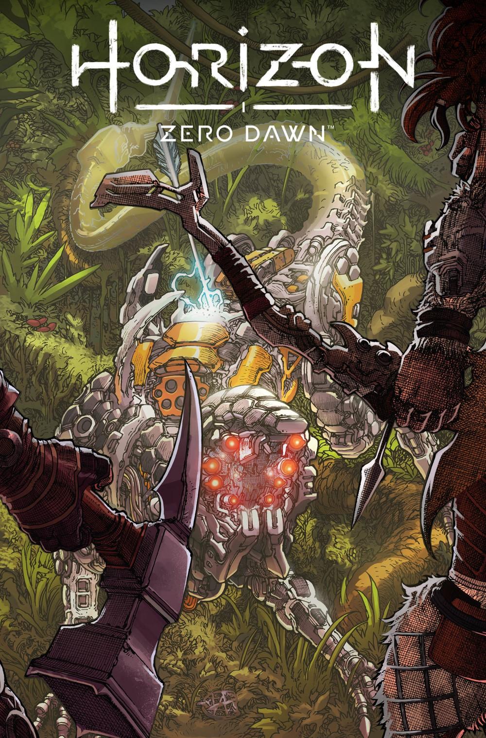 HorizonZeroDawn24_00_Cover_C Titan Comics October 2021 Solicitations