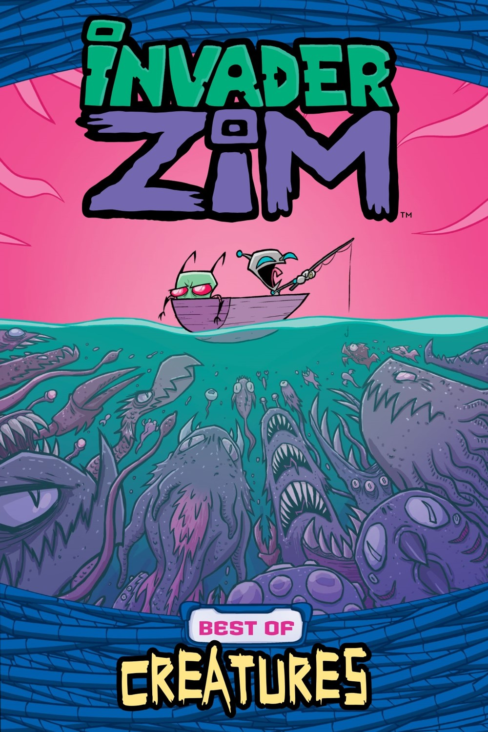 INVADERZIM-BEST-OF-CREATURES-REFERENCE-001 ComicList Previews: INVADER ZIM BEST OF CREATURES VOLUME 1 TP
