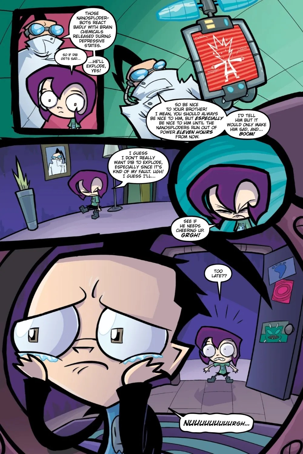 INVADERZIM-BEST-OF-CREATURES-REFERENCE-011 ComicList Previews: INVADER ZIM BEST OF CREATURES VOLUME 1 TP