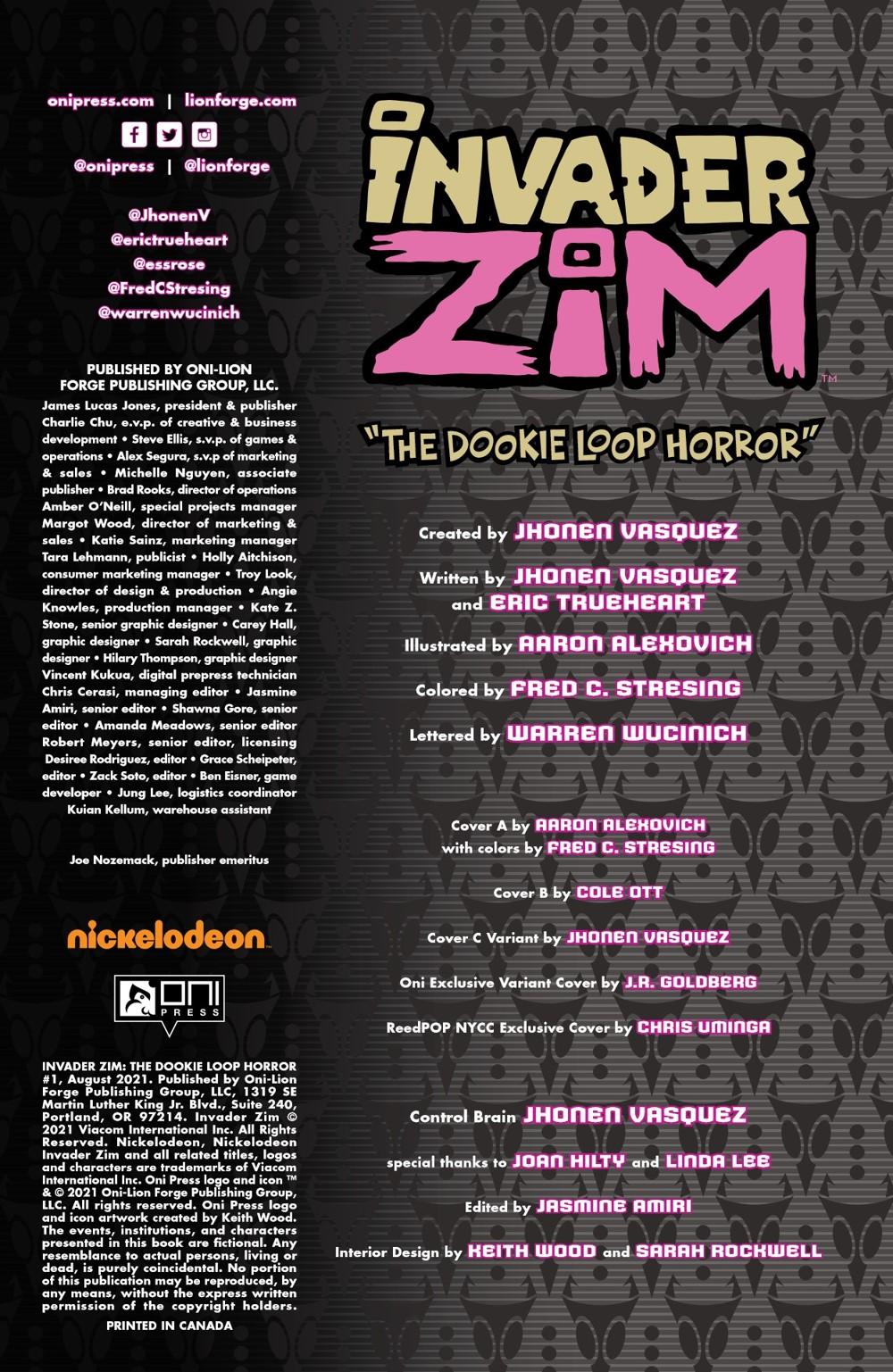 INVADERZIM-DOOKIE-LOOP-HORROR-MARKETING-06 ComicList Previews: INVADER ZIM THE DOOKIE LOOP HORROR #1