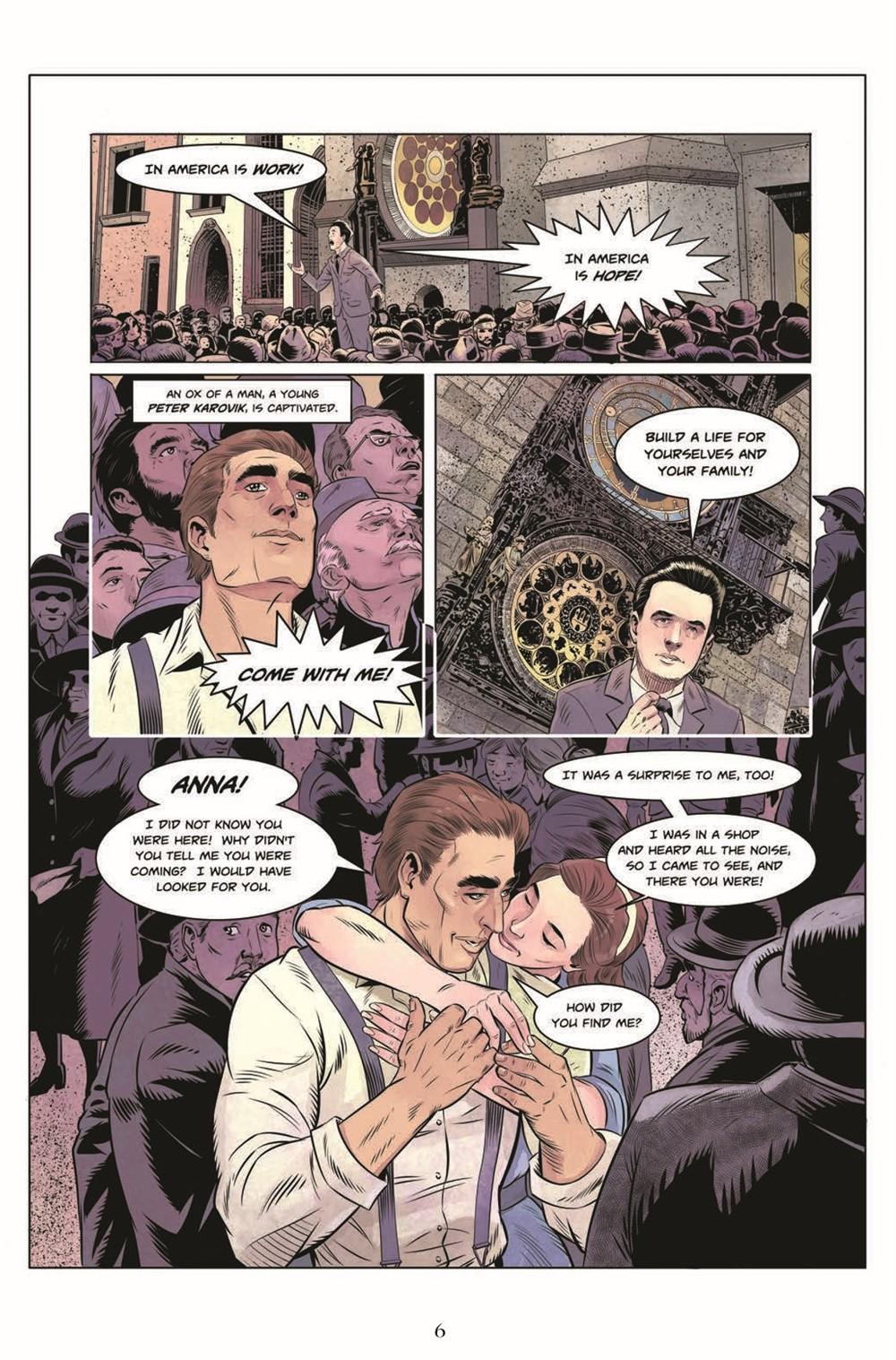 JIC_3_TPB_pr-4 ComicList Previews: THE JEKYLL ISLAND CHRONICLES VOLUME 3 A LAST CALL GN