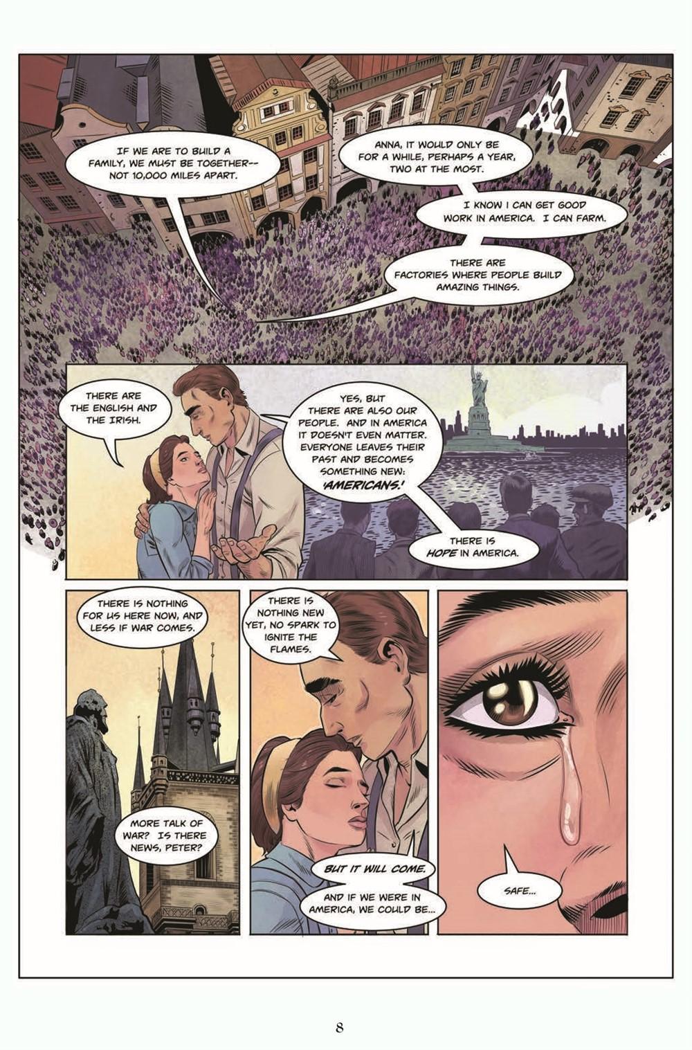 JIC_3_TPB_pr-6 ComicList Previews: THE JEKYLL ISLAND CHRONICLES VOLUME 3 A LAST CALL GN