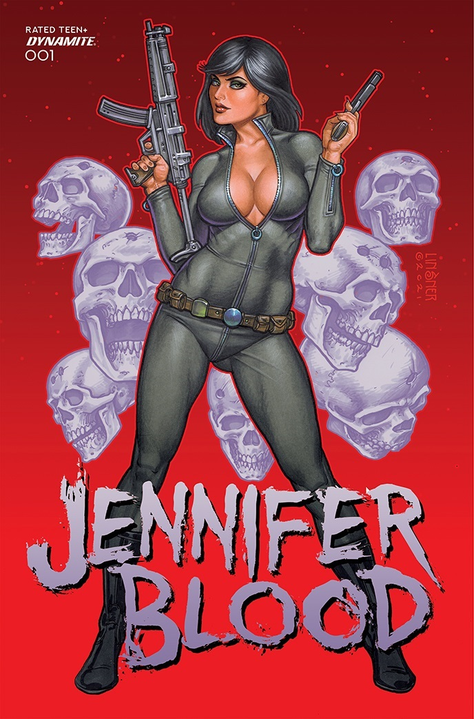 JenniferBlood-01-01021-B-Linsner-1 Dynamite Entertainment October 2021 Solicitations