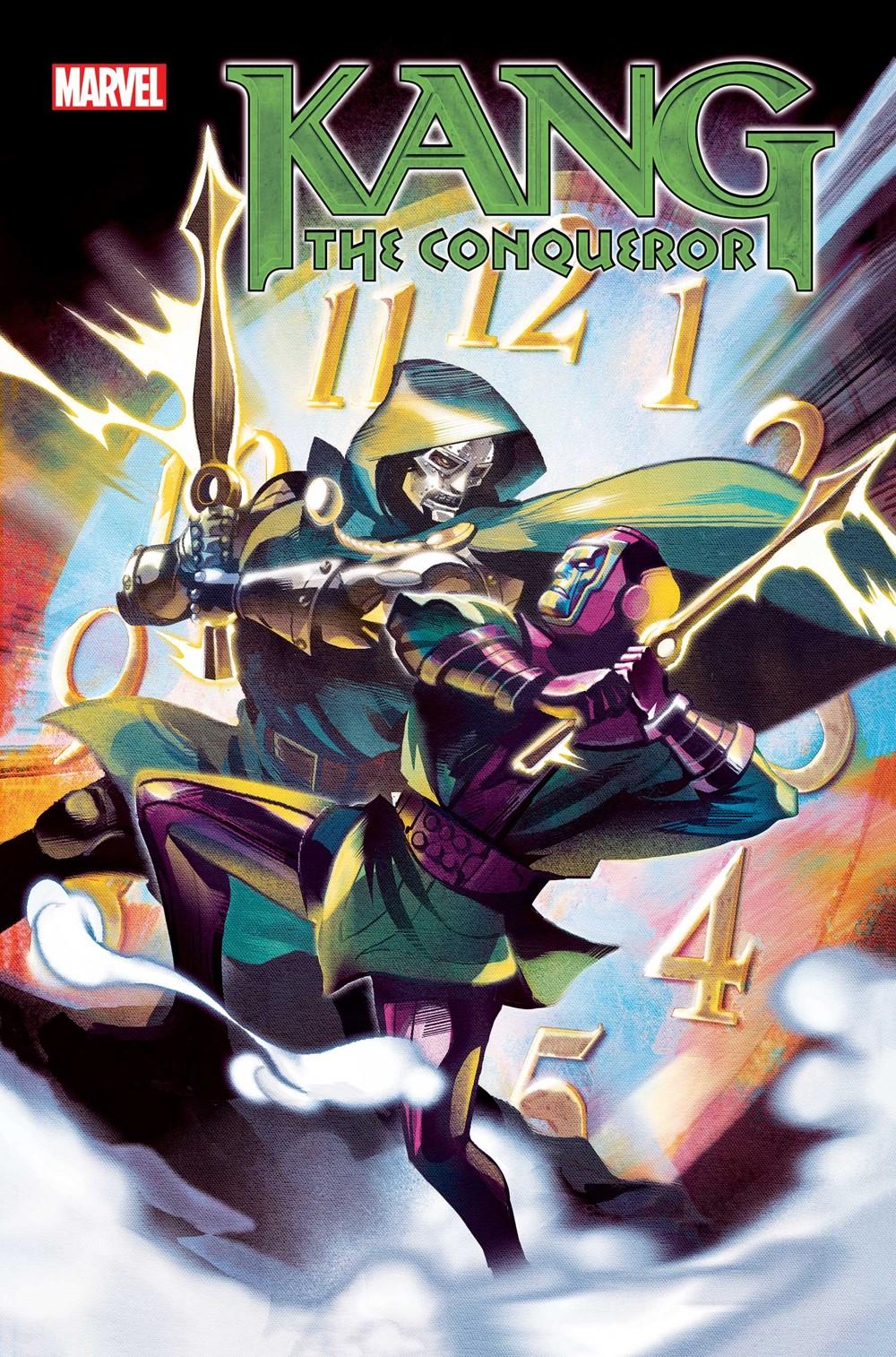 KANGCONQUEROR2021003_Cov Marvel Comics October 2021 Solicitations