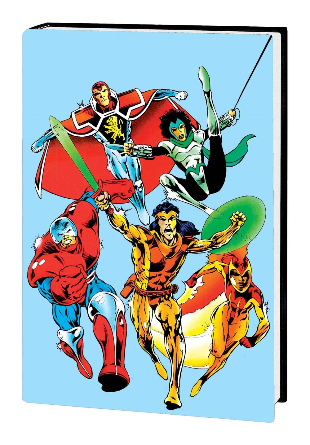KOPOMNIHC_COV1_VAR Marvel Comics October 2021 Solicitations