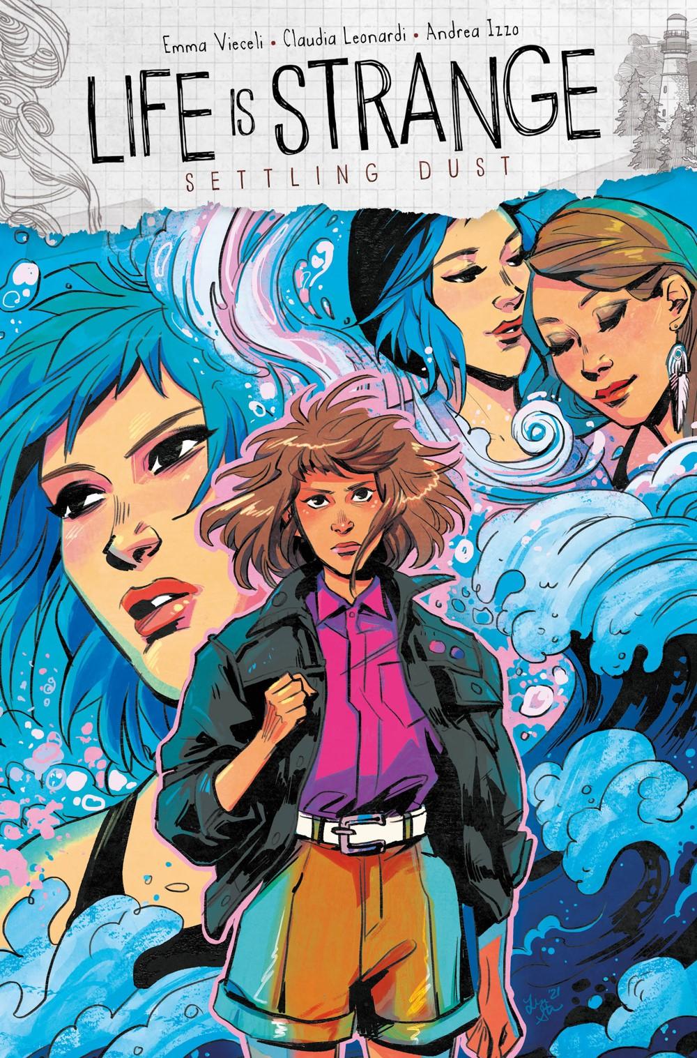LIFE-IS-STRANGE-SETTLING-DUST-2-CVR-A-STERLE Titan Comics October 2021 Solicitations