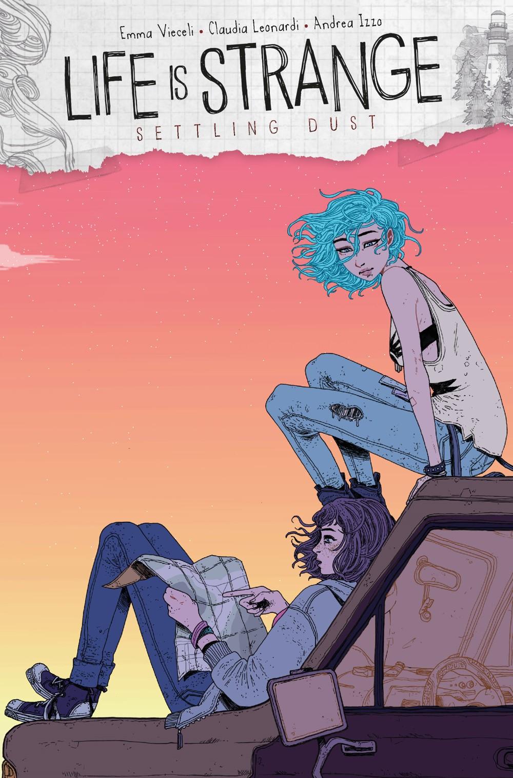LIFE-IS-STRANGE-SETTLING-DUST-2-CVR-D-THOROGOOD Titan Comics October 2021 Solicitations