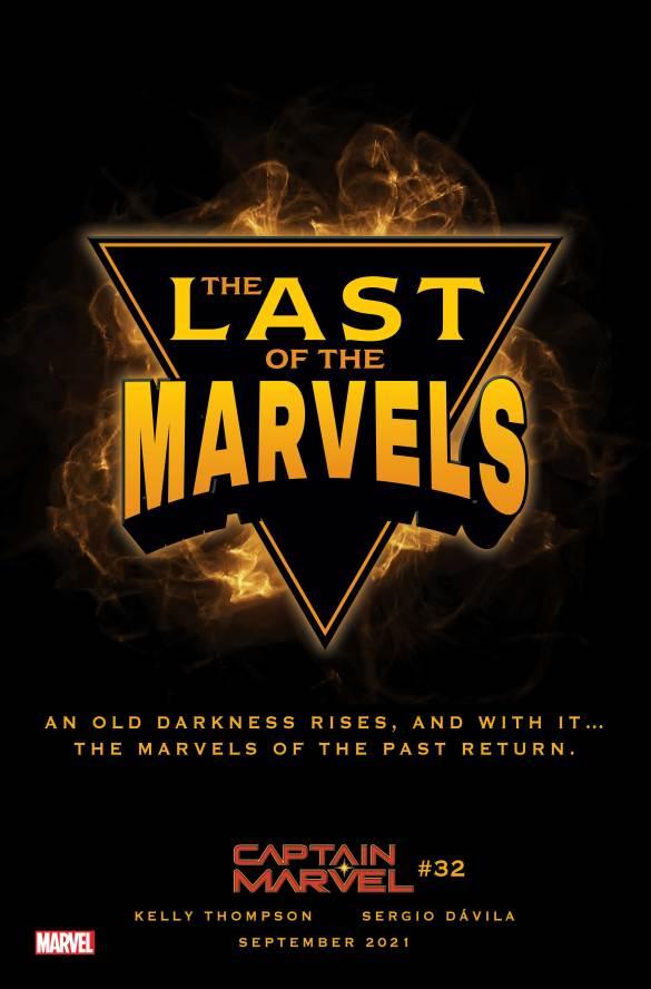LastOfTheMarvels A Captain Marvel returns in CAPTAIN MARVEL #33