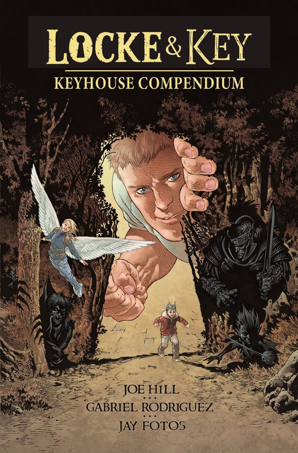 LnK-KeyhouseCompendium-pr-1 ComicList Previews: LOCKE AND KEY KEYHOUSE COMPENDIUM HARDCOVER COLLECTION