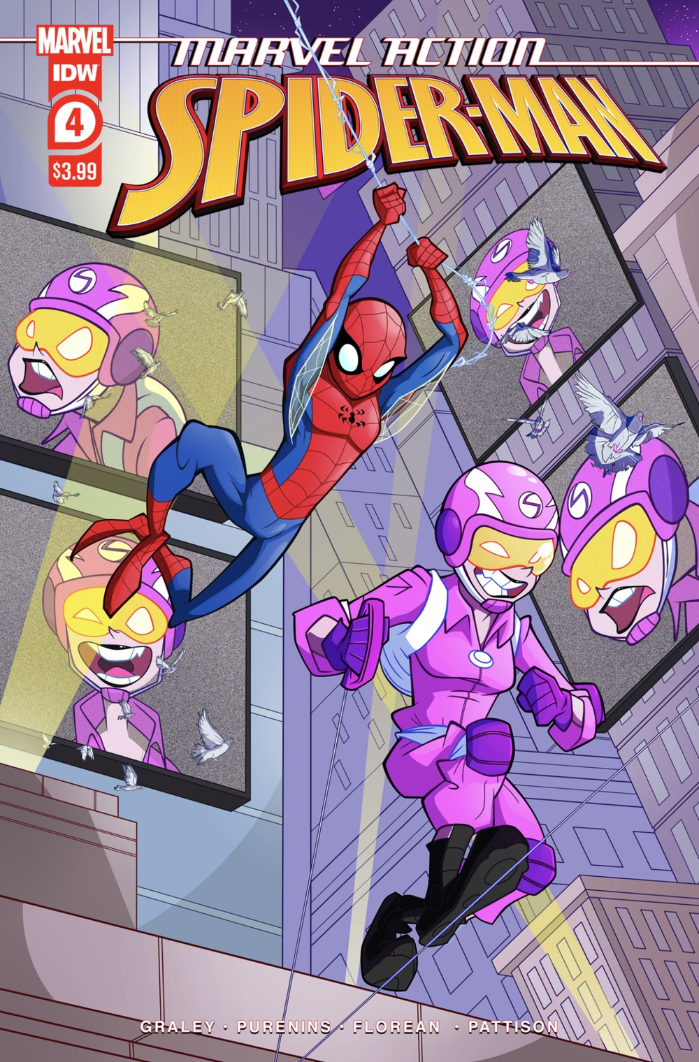 MARVEL-ACTION-SPIDER-MAN-VOL.-3-4-COVER-A ComicList: IDW Publishing New Releases for 07/21/2021