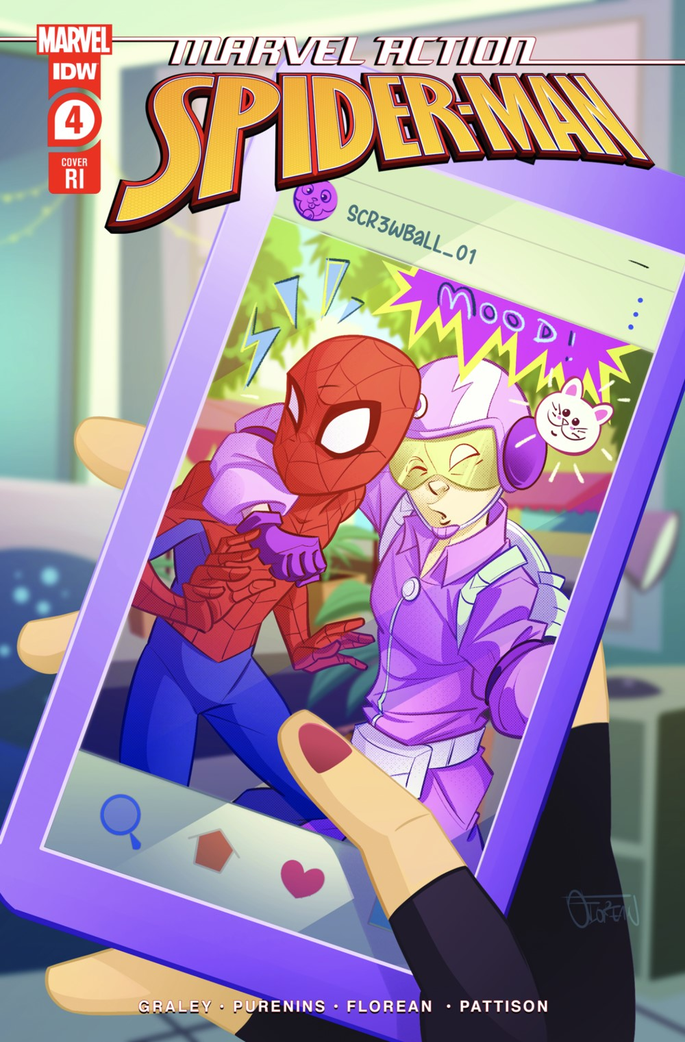 MARVEL-ACTION-SPIDER-MAN-VOL.-3-4-RI-COVER ComicList: IDW Publishing New Releases for 07/21/2021