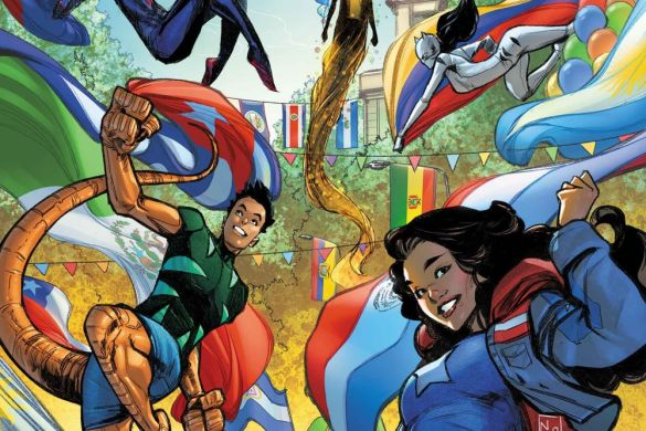 MARVOICESCOM2021001_Zitro_var Latinx heroes and creators shall be celebrated in MARVEL'S VOICES: COMUNIDADES #1