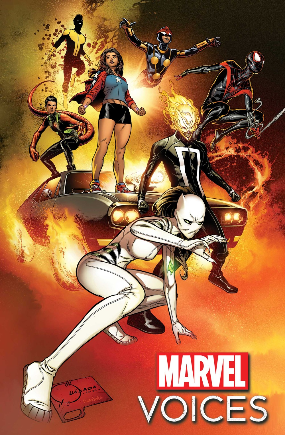 MARVOICESCOM2021001_cvr-1 Marvel Comics October 2021 Solicitations