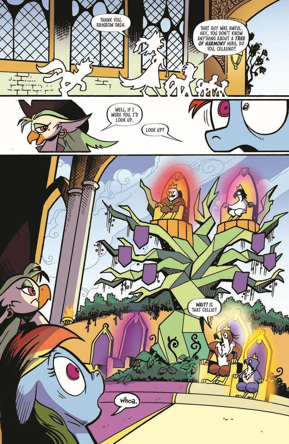 MLP100-pr-6 ComicList Previews: MY LITTLE PONY FRIENDSHIP IS MAGIC #100