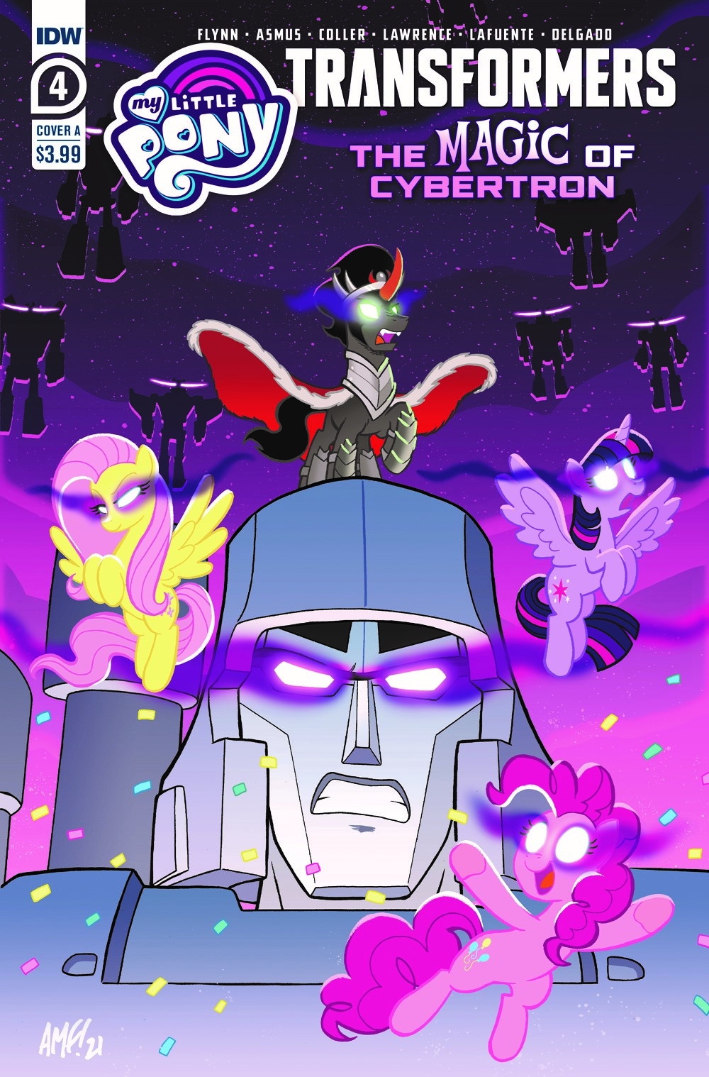 MLP_TF04-coverA ComicList Previews: MY LITTLE PONY TRANSFORMERS II #4 (OF 4)