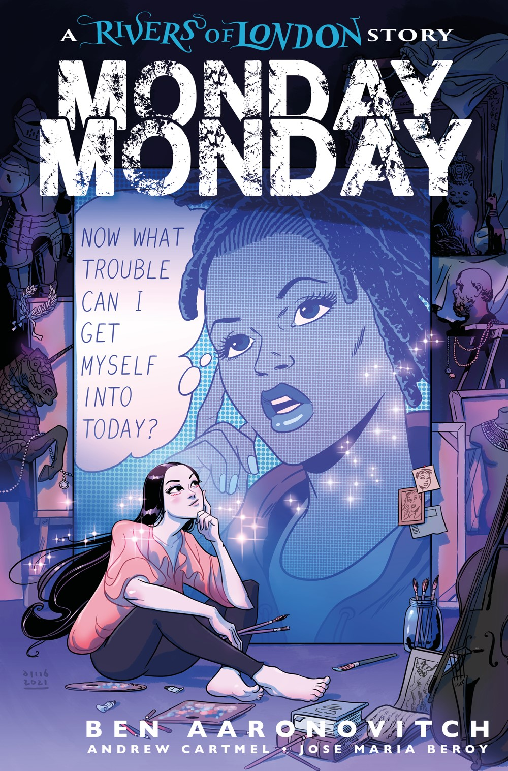 MONDAY_MONDAY_RIVERS-OF-LONDON-4-CVR-C-BUISIAN Titan Comics October 2021 Solicitations