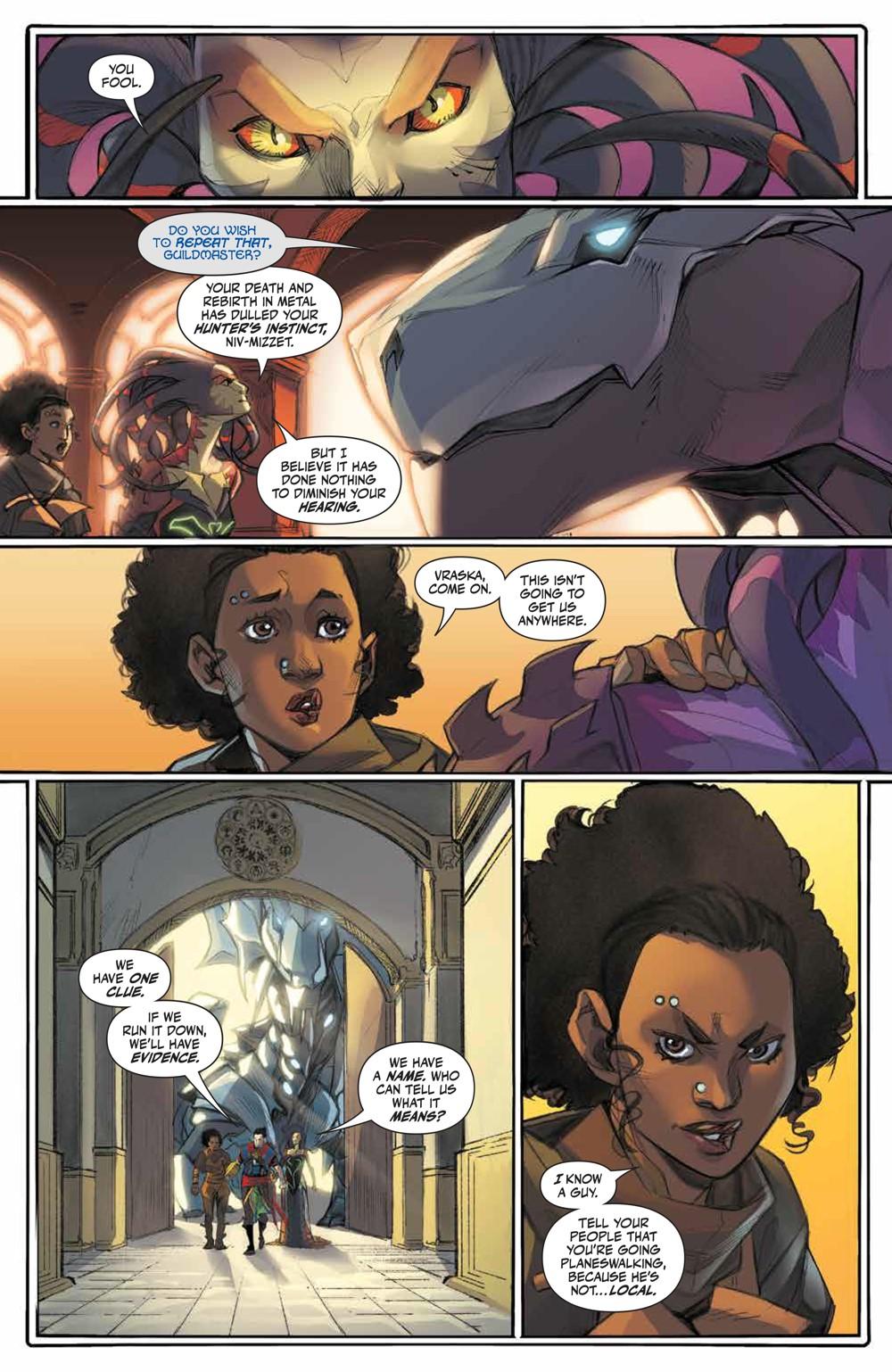 Magic_005_PRESS_6 ComicList Previews: MAGIC #5