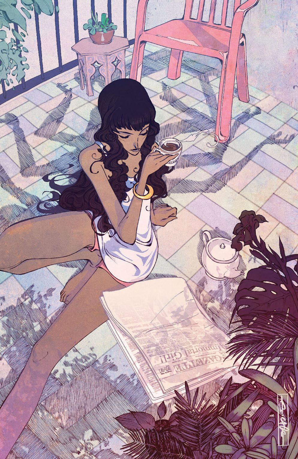 ManyDeathsLailaStarr_004_Cover_D_Unlockable ComicList Previews: MANY DEATHS OF LAILA STARR #4 (OF 5)