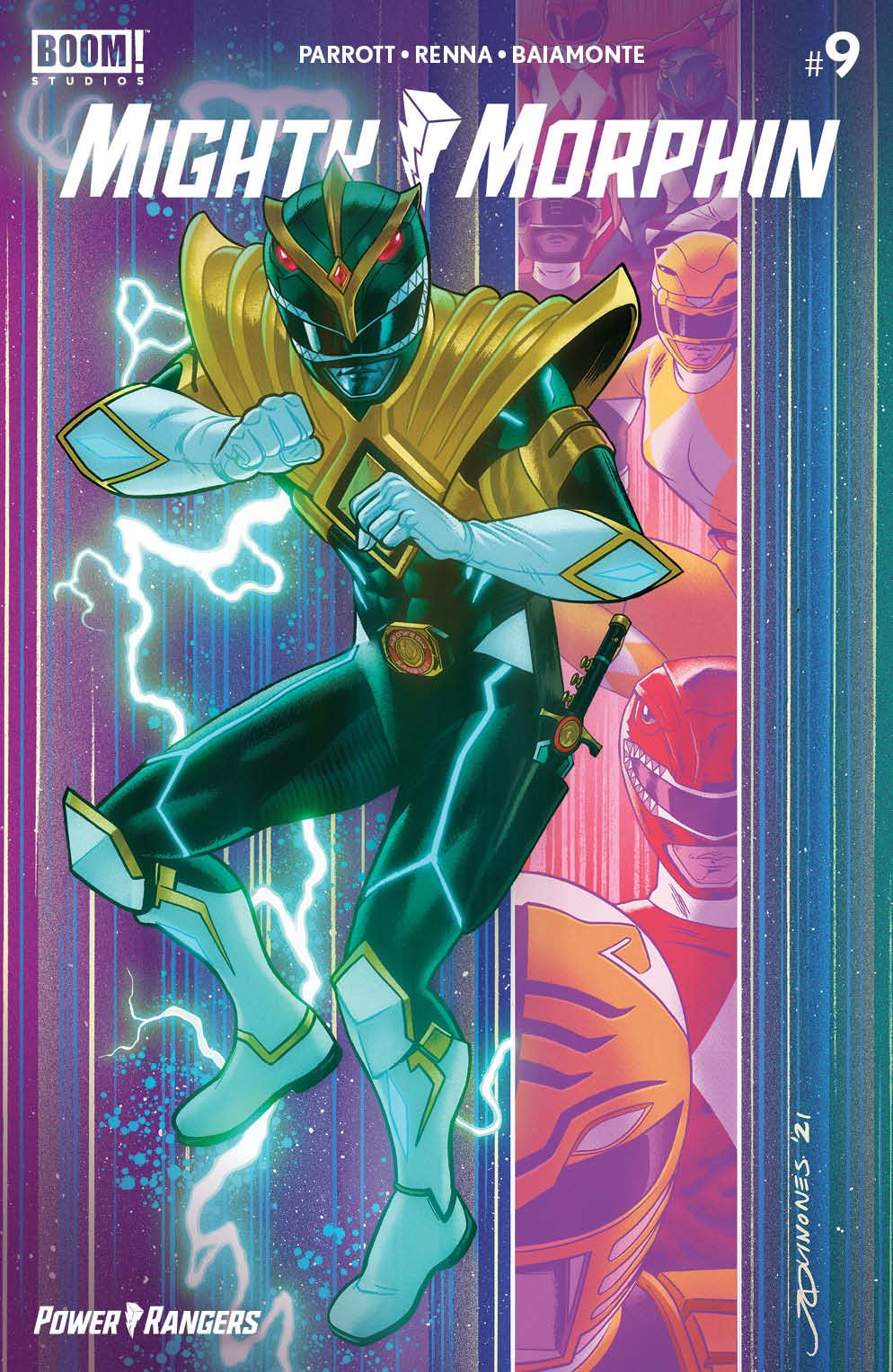 Mighty_Morphin_009_Cover_F1_Variant ComicList Previews: MIGHTY MORPHIN #9