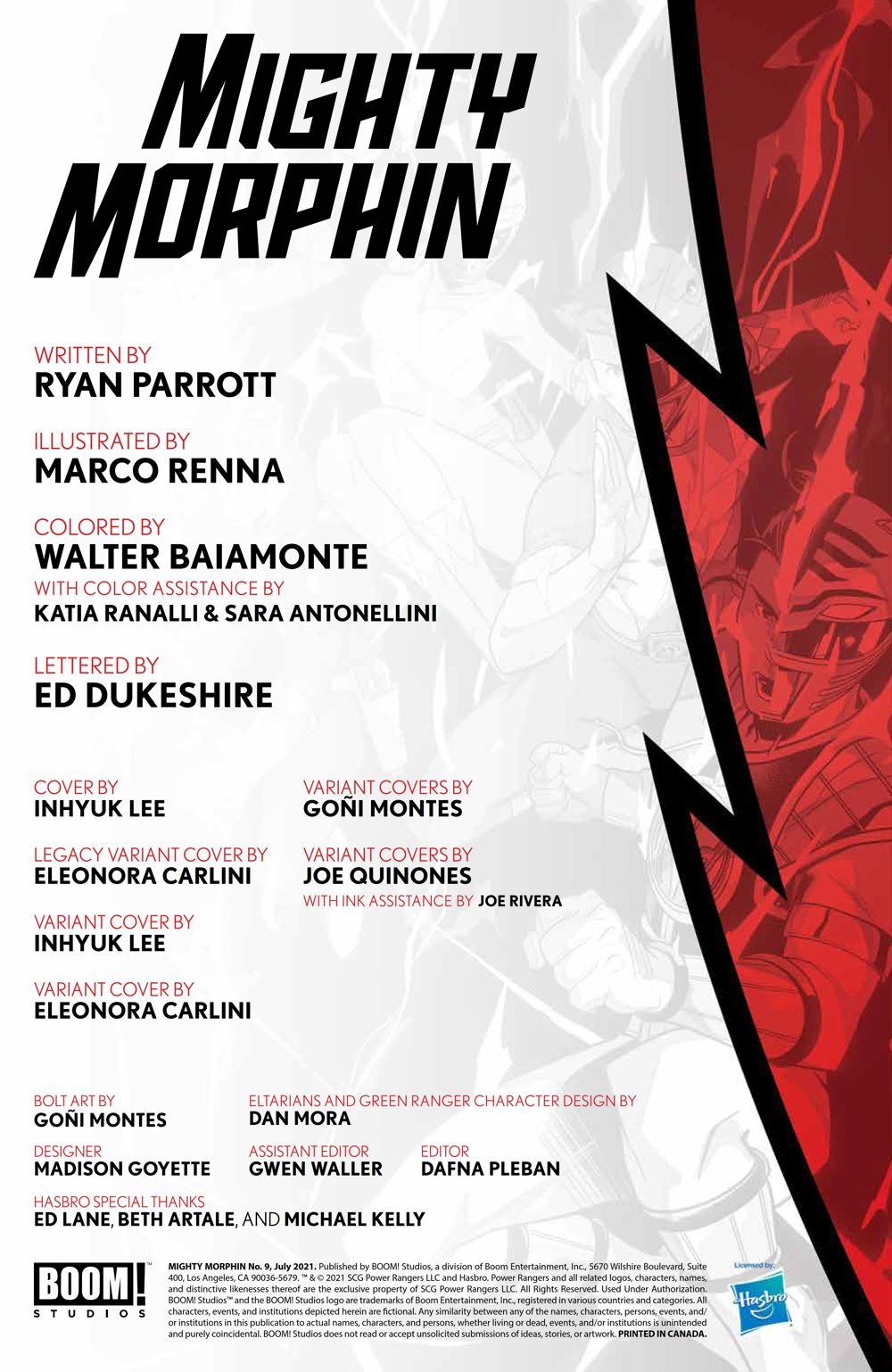 Mighty_Morphin_009_PRESS_2 ComicList Previews: MIGHTY MORPHIN #9