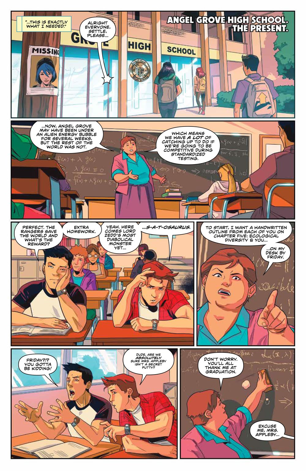 Mighty_Morphin_009_PRESS_6 ComicList Previews: MIGHTY MORPHIN #9