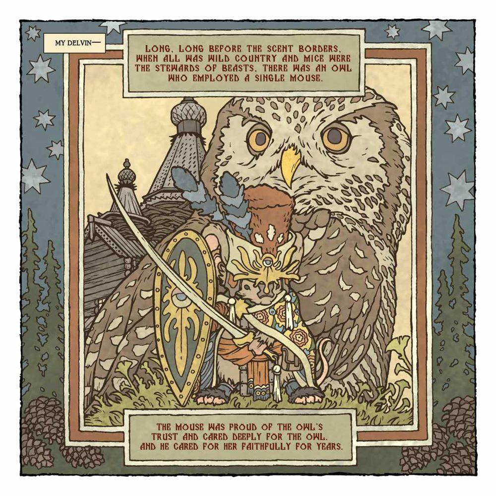 MouseGuard_OwlhenCaregiver_001_PRESS_4 ComicList Previews: MOUSE GUARD THE OWLHEN CAREGIVER #1