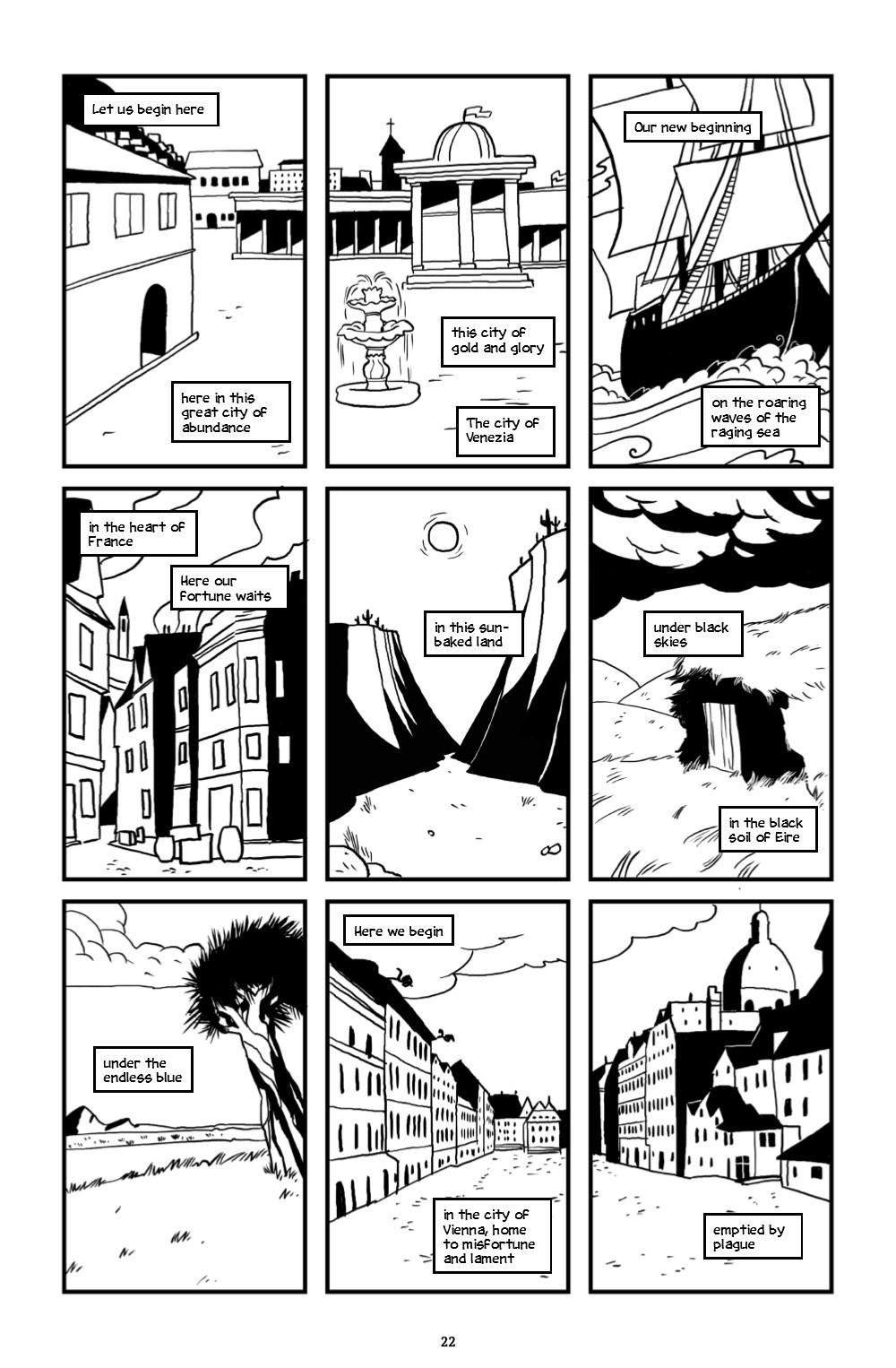 ONELINE-HC-MARKETING-023 ComicList Previews: ONE LINE HC