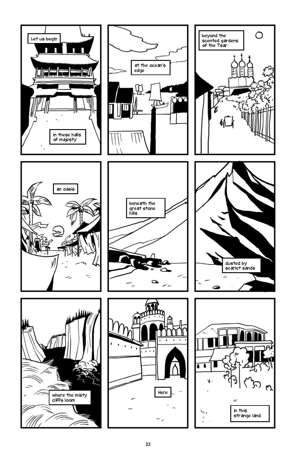 ONELINE-HC-MARKETING-024 ComicList Previews: ONE LINE HC