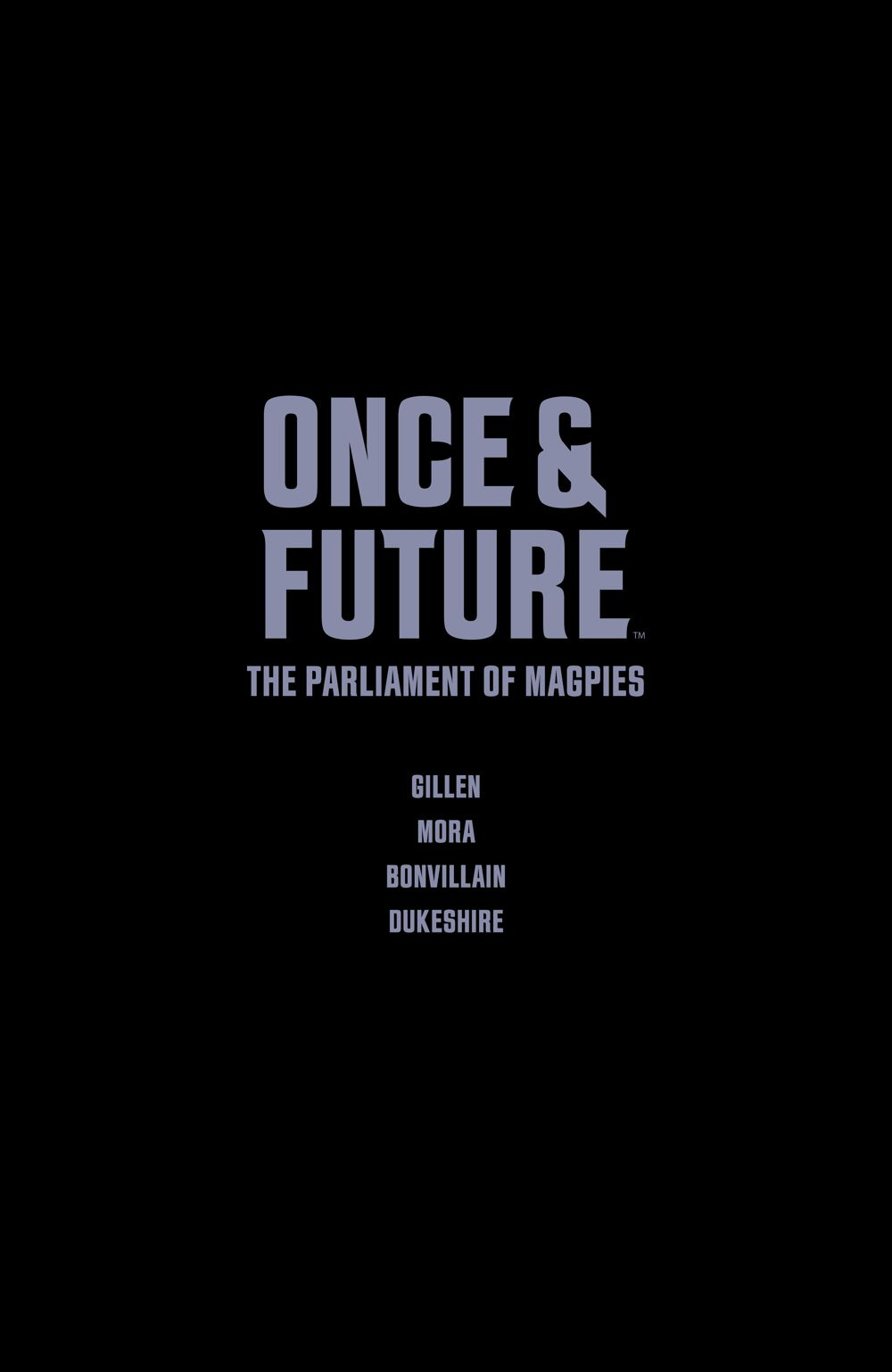 OnceFuture_v3_SC_PRESS_12 ComicList Previews: ONCE AND FUTURE VOLUME 3 THE PARLIAMENT OF MAGPIES TP