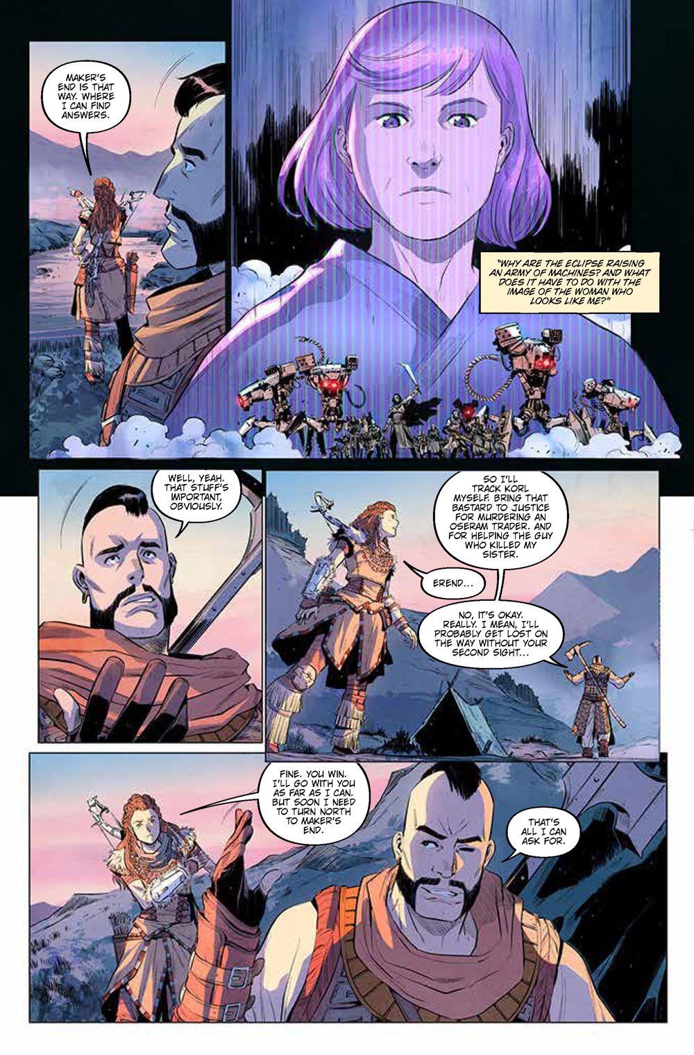 Pages-from-HorizonZeroDawn2.1_1 ComicList Previews: HORIZON ZERO DAWN LIBERATION #1