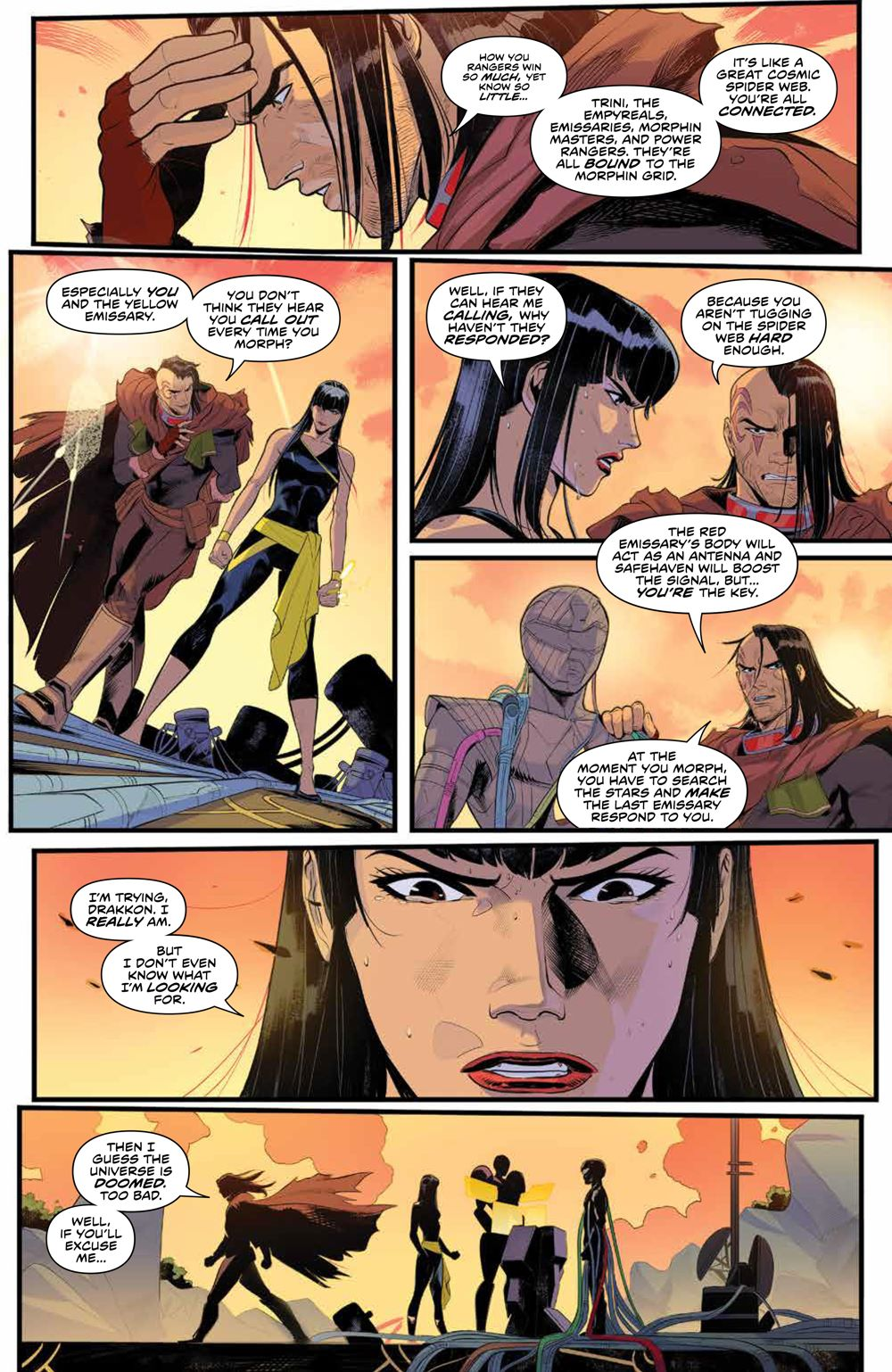 PowerRangers_009_PRESS_7 ComicList Previews: POWER RANGERS #9