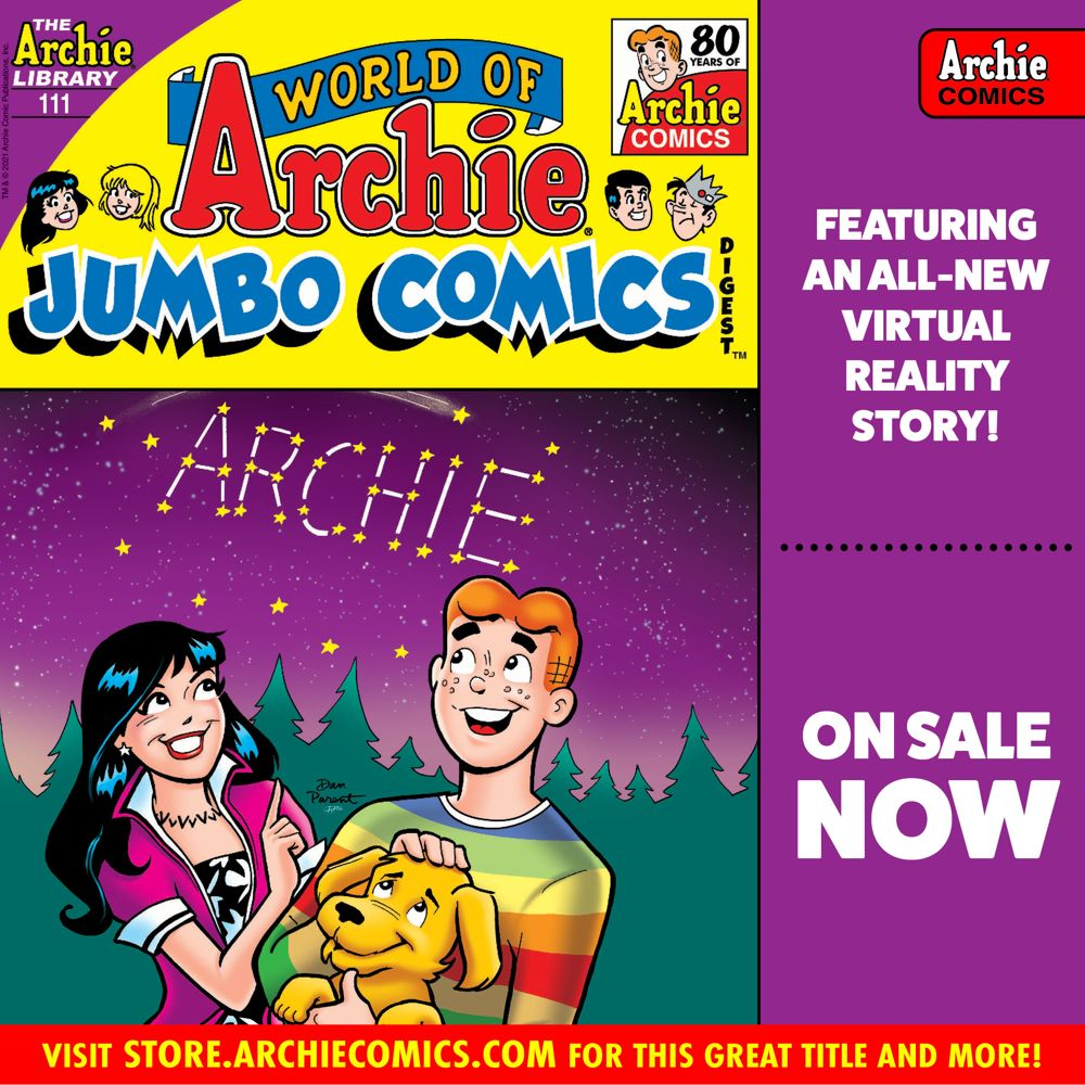 Preorder_Graphic_JUL_2021_OSN_03 ComicList Previews: WORLD OF ARCHIE JUMBO COMICS DIGEST #111