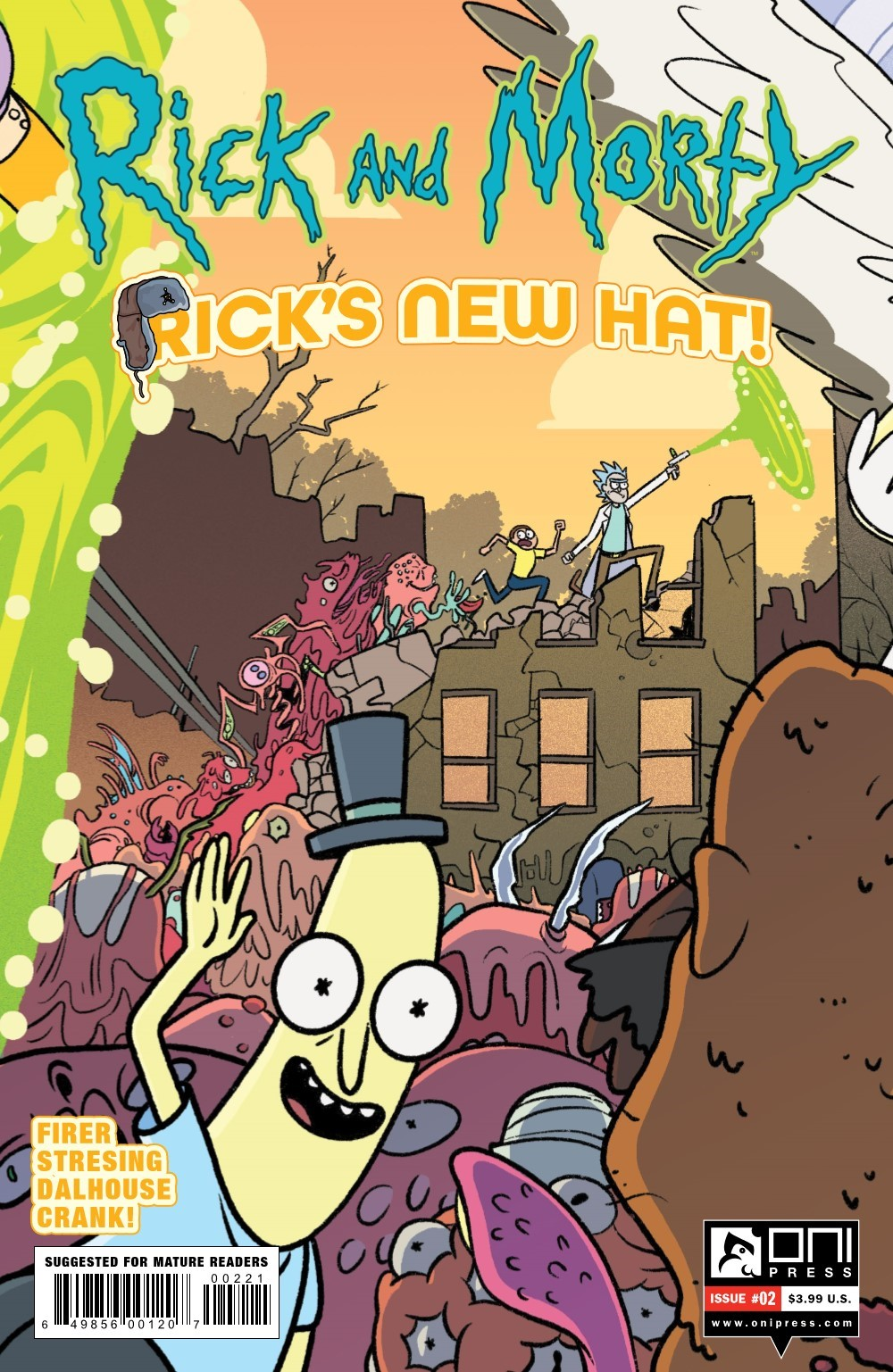RM-RNH-2-REFERENCE-02 ComicList Previews: RICK AND MORTY RICK'S NEW HAT #2