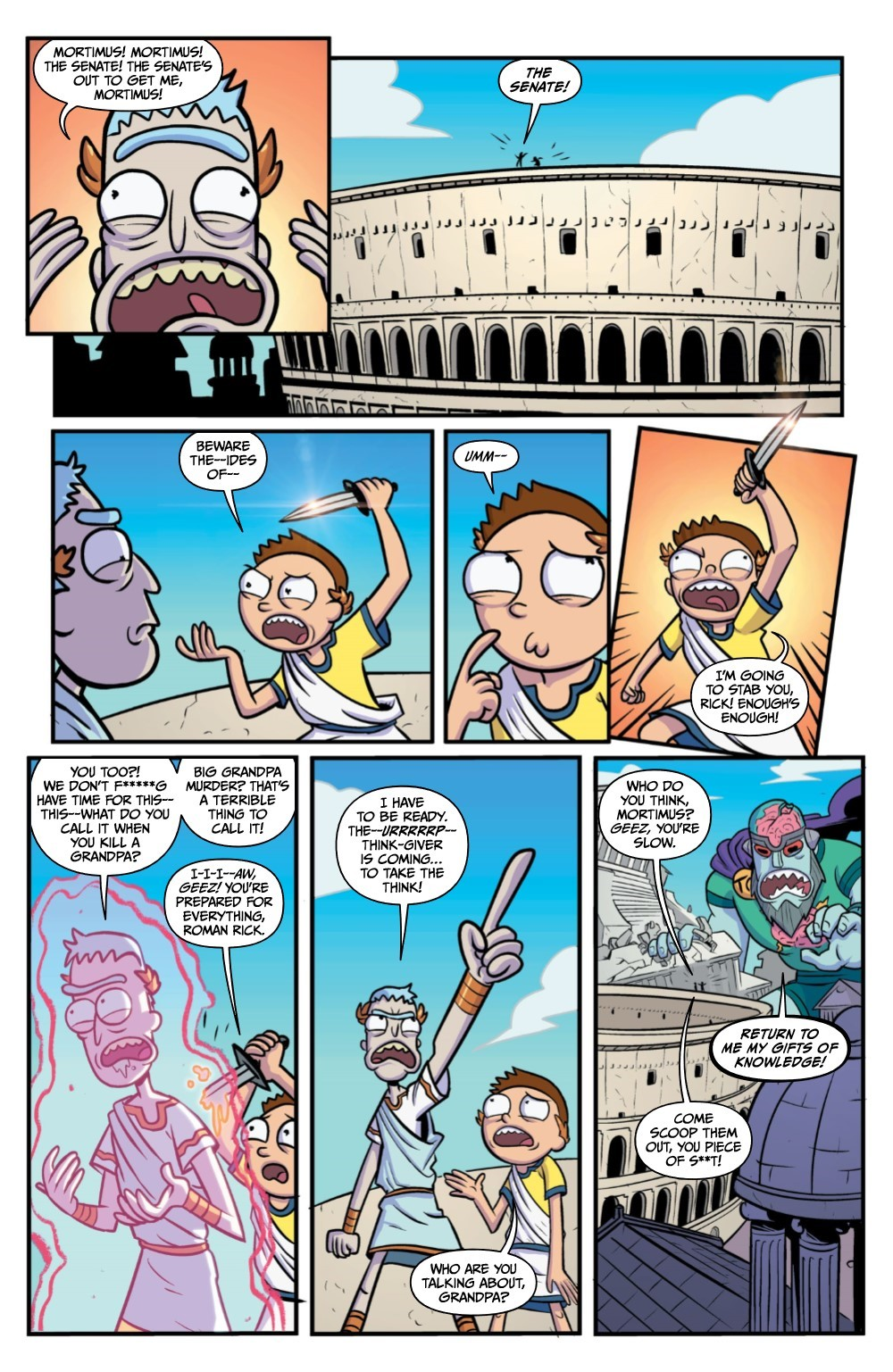 RM-RNH-2-REFERENCE-04 ComicList Previews: RICK AND MORTY RICK'S NEW HAT #2