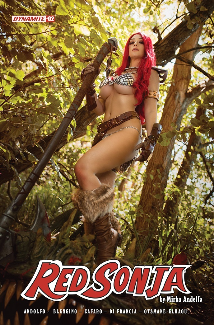 RedSonja2021-02-02051-E-Cosplay Dynamite Entertainment October 2021 Solicitations