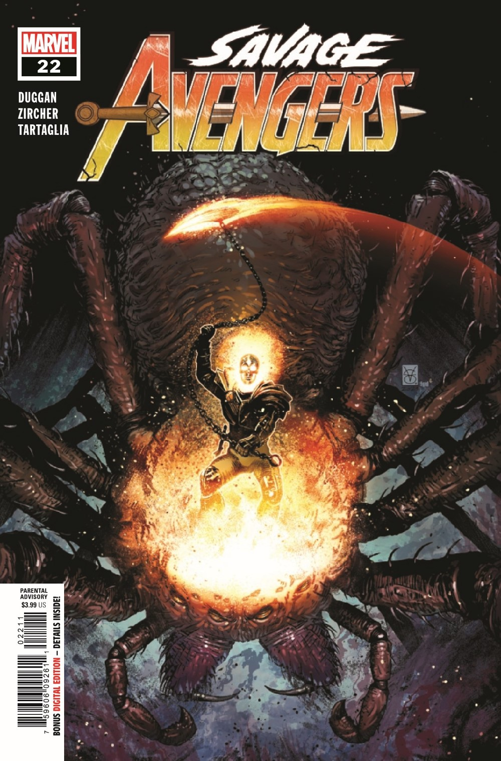 SAVAVEN2019022_Preview-1 ComicList Previews: SAVAGE AVENGERS #22