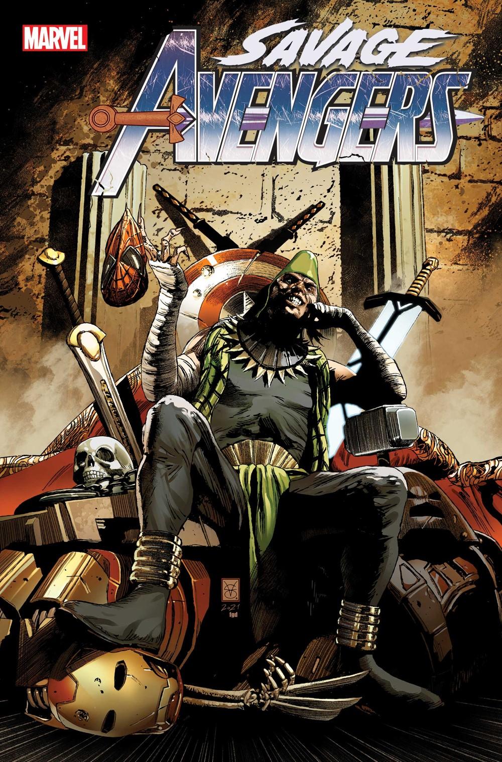 SAVAVEN2019025_Cov Marvel Comics October 2021 Solicitations