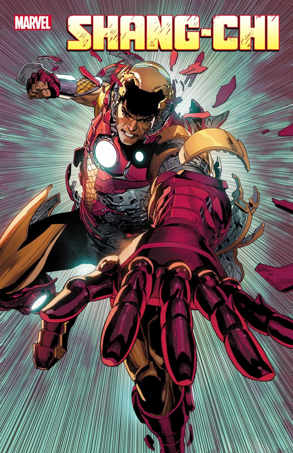 SHANGCHI2021005_cov_flat Marvel Comics October 2021 Solicitations
