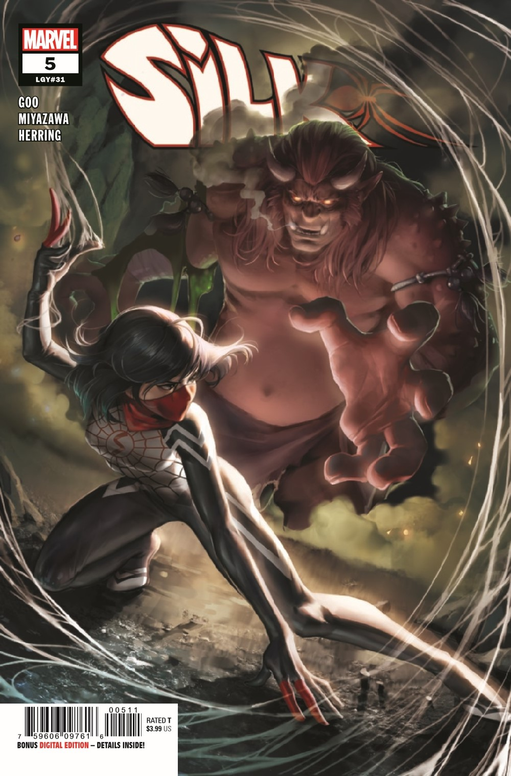 SILK2021005_Preview-1 ComicList Previews: SILK #5 (OF 5)