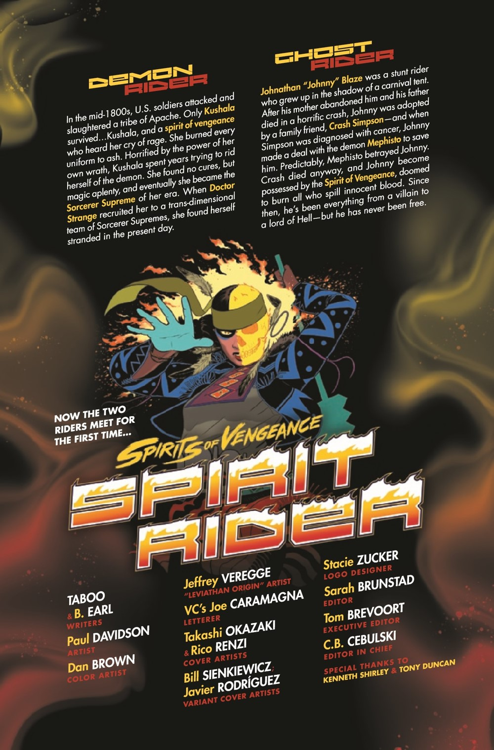 SOVSPRIDER2021001_Preview-2 ComicList Previews: SPIRITS OF VENGEANCE SPIRIT RIDER #1