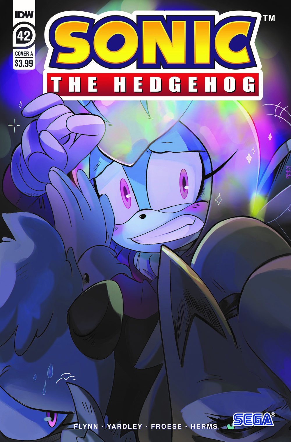 STH42_cvrA ComicList Previews: SONIC THE HEDGEHOG #42