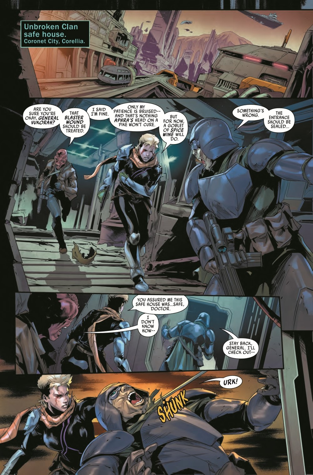 STWBOUNTYHUNT2020015_Preview-3 ComicList Previews: STAR WARS BOUNTY HUNTERS #15