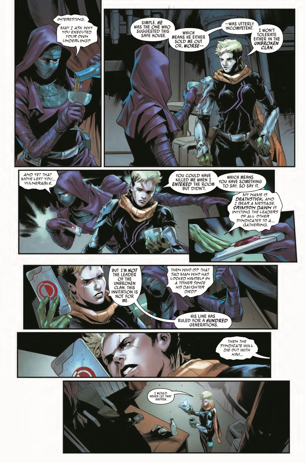 STWBOUNTYHUNT2020015_Preview-5 ComicList Previews: STAR WARS BOUNTY HUNTERS #15