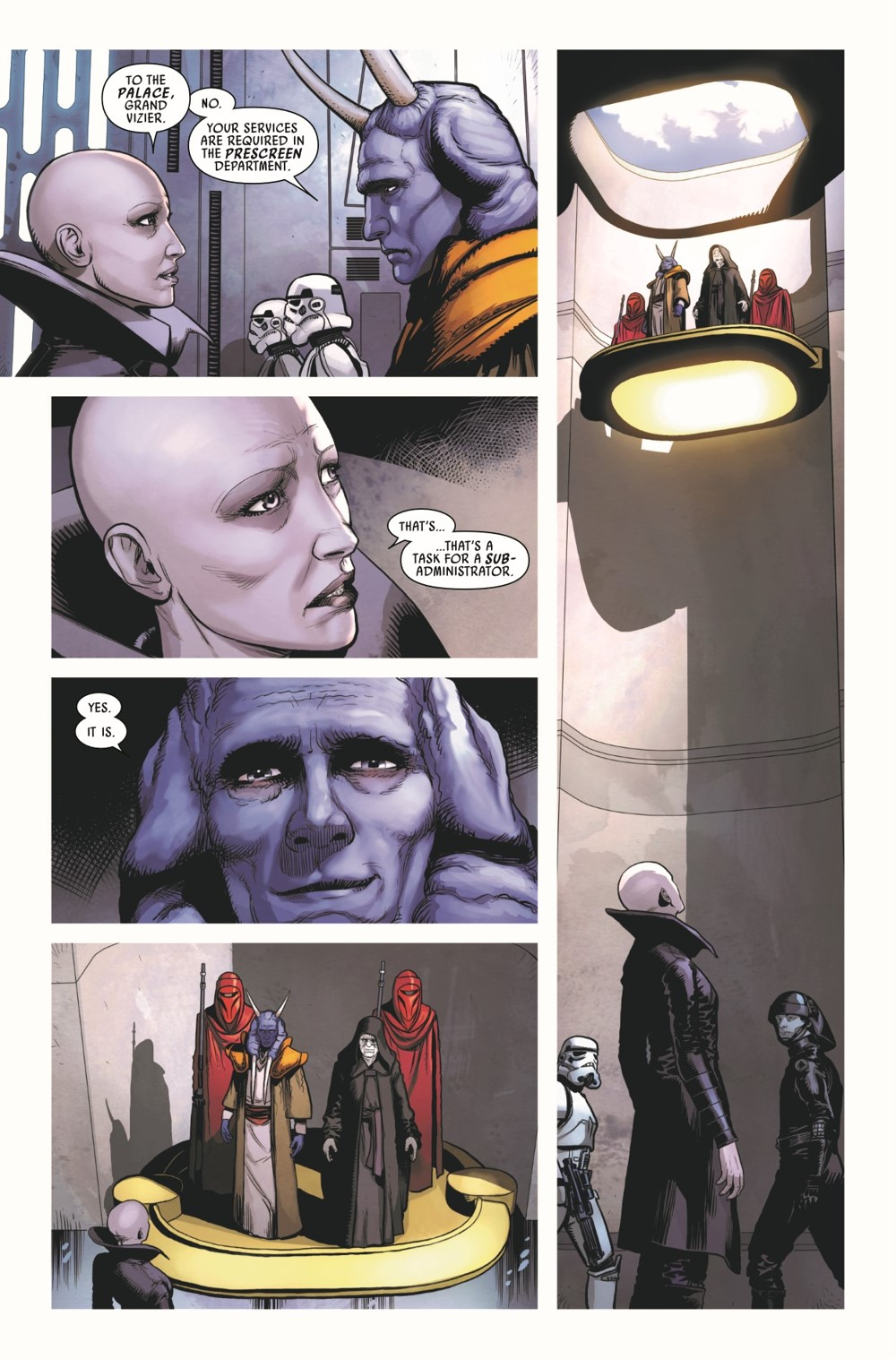 STWVADER2020014_Preview-5 ComicList Previews: STAR WARS DARTH VADER #14
